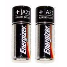 Energizer® A23BP-2 Non-Rechargeable Battery, Alkaline Zinc-Manganese Dioxide, 12 V, 55 mAh, A23