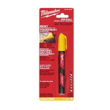 Milwaukee® 48-22-3722 INKZALL™ Liquid Paint Marker, Acrylic Nib/Plastic, Red/Yellow