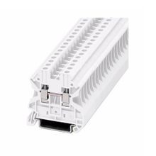 Eaton, Terminal Block, 10 AWG, 6.2 mm, Feed Through, White, 50/Pack