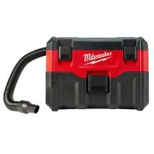 Milwaukee® M18™ Cordless Vacuum, 2 gal, 18 VDC, Lithium-Ion Battery, Polycarbonate Housing