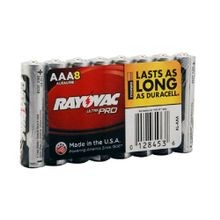 Rayovac® Ultra Pro AL-AAA Shrink Wrapped Battery, Alkaline, 1.5 VDC, 1200 mAh, AAA