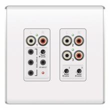 On-Q® AU1011-WH Flush Mount Triple Source Input, 24 VDC, RJ45 Connection, For Use With lyriQ Audio System, White