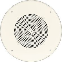 Bogen® S810T725PG8WVR Ceiling Speaker Assembly With Volume Control, Off-White Steel Enclosure