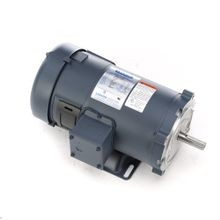LEESON® 108022 C-Face SCR Rated DC Motor With Removable Base, 30:1 Constant Torque Speed Range, 441 in-lb Torque, 1 hp