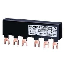 Siemens SIRIUS 3RV1915-1AB Line Side Feeder Busbar, 34.2 mm W x 34.2 mm L, For Use With 3RV2 Motor Starter Protectors