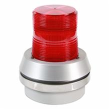 Edwards Signaling™ 95R-N5 Light Duty Strobe Beacon With Integrated Horn, 120 VAC, Xenon Lamp, 6 in Dia, Conduit Mount