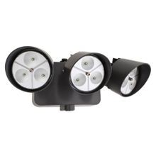 Lithonia Lighting® OFLR-9LN-120-P-BZ Flood Landscape Light With Photocell, 9 LED Lamp, 120 VAC, Bronze Housing