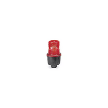 StreamLine® LP3PL-120R Low Profile Steady Burn Light, 120 VAC, LED Array Lamp, 3.13 in Dia, Surface Mount, Red Lens