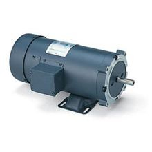 LEESON® 98032 C-Face SCR Rated DC Motor With Removable Base, 30:1 Constant Torque Speed Range, 405 in-lb Torque, 0.75 hp