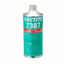 Loctite® SF 7387™ Depend® Very Low Viscosity Adhesive Activator, 1 qt Can, Liquid, Amber, 0.78
