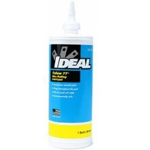 IDEAL® Yellow 77® 31-358 Wire Pulling Lubricant, 1 qt Squeeze Bottle, Paste, Yellow, 0.98