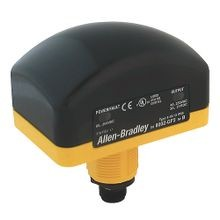 Allen-Bradley, 800Z-GL2Q5, 22.5mm Type 4/4X/13 IP66 Zero-Force Momentary General Purpose Touch Button, 10-40V DC and 20-30V AC Input, Relay Output - 5 Pin QD