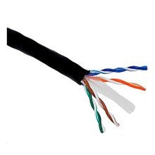 West Penn, CAT 6 Cable, Stranded, 23 AWG, Copper, 4 Pairs, 1000 ft, Polyethylene, Outdoors