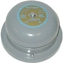 Edwards Signaling™ 340-4G5 Vibrating Bell, 24 VAC, 0.31 A, 98/88 dB at 1 m/10 ft, Surface Mount