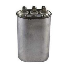 Rotom, Capacitor, Motor Run, 30 ╡F, Oval, 370/440 Volts, Tab, Metal, 50/60 Hz, 3.55 Inch, 2.75 Inch