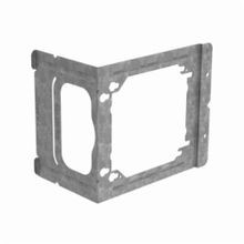 ERICO® CADDY® C23 Box Mounting Bracket, 4 in/4-11/16 in Box, Steel, Pre Galvanized