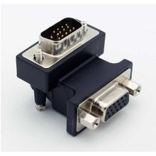 Calrad, Right Angle Adapter, VGA, Male to Female, 15 Pins, Projector