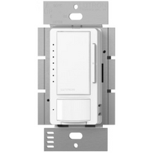 Lutron® Maestro® MSCL-OP153M 3-Way Multi-Location Dimmer Switch With Occupancy/Vacancy Sensor, 120 VAC, 1 Pole, White
