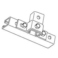 Kindorf® B927 U-Shaped Support, 3 Holes, 4-7/16 in L x 1-1/2 in W, For Use With 1-1/2 x 1-1/2 in Channel, Steel