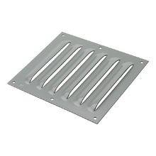 Hoffman D85 Louver Plate Kit, For Use With 7.88 in H x 7.5 in W Fresh Air Enclosure Cooling, Steel