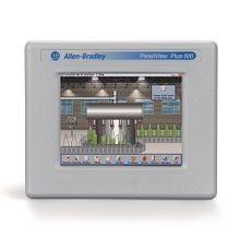 Allen-Bradley, 2711 PanelView Plus 6 Terminal, 600 Model, Touch Screen, Color, RS-232 Communication Only, DC Input, Windows CE 6.0