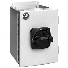 Allen-Bradley, 194E-FA20E-PE, IEC Load Switch, NEMA Type 3/4/12 - IP66 Painted Steel - Base / DIN Rail, 6