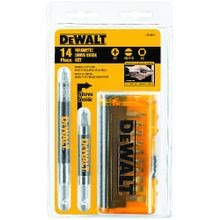 DeWALT® Guaranteed Tough® DW2097CS Magnetic Drive Guide Set, 14 Pieces, For Use With Drills and Drivers