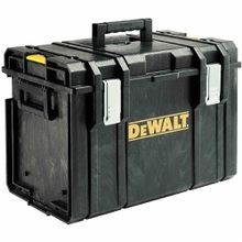 DeWALT® ToughSystem® DWST08204 Extra Large Weather Resistant Tool Case, 15 in H x 21 in W x 14 in D, Polypropylene