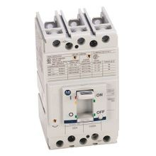 Allen-Bradley, 140G - Molded Case Circuit Breaker, G frame, 25 kA, T/M - Thermal Magnetic, Rated Current 125 A