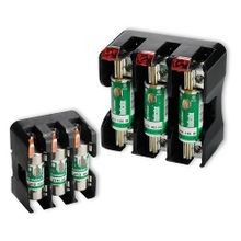 Littelfuse® POWR-GARD® LFJ Indicating Fuse Block, 600 VAC, 100 A, 6 to 2/0 AWG Wire, 1 Pole
