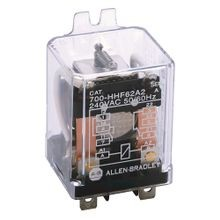 Allen-Bradley, 700-HHF General Purpose Flange Cover Power Relay, 25 Amp Contact, DPDT, 24V 50/60Hz