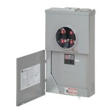 Cutler-Hammer MBT48B200BSAP Type BR All-in-One Ringless Side-Wired Meter Breaker Combination, 120/240 VAC, 200 A, 1 Phase, NEMA 3R Enclosure