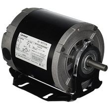 Century, Resilient Base Motor, Split-Phase, 1/3 HP, 48, 1 Phase, 1725 RPM, ODP, 115 Volts