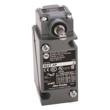 Allen-Bradley, 802T-AL1P, Limit Switch, NEMA Type 4 and 13 Oiltight Construction, Plug-In, Lever Type, Spring Return, Low Operating Torque, 2-Circuit, CW operation only, lever can be moved CCW, Whole Switch