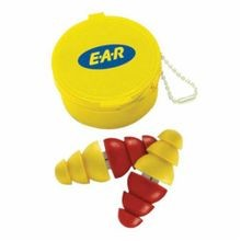 E-A-R™ ARC Plug™ Corded Reusable Ear Plug, Multi-Flange, 22 dB, Red/Yellow Plug