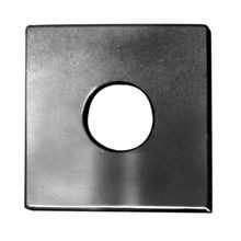 Hubbell, Flat Washer, 2 x 2 Inch, 5/8 Inch Bolt, Hot-Dip Galvanized Steel