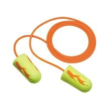E-A-Rsoft™ Blasts™ Corded Disposable Ear Plug, Tapered, 33 dB, Yellow Plug