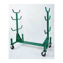 Greenlee® 668 Pipe and Conduit Rack, 1000 lb, 63-1/2 in H x 34 in W x 58-1/2 in D, Steel