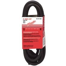 Milwaukee® QUIK-LOK™ 48-76-4108 Extension Cord, 120 V, 8 ft Cord