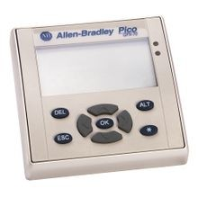 Allen-Bradley, 1760-L18AWA-EX, Pico Controller, 12 Digital Inputs, 6 Relay Outputs, 120/240V AC, I/O Expandable, Real Time Clock