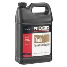 Rigid Tool, Dark Pipe Thread Cutting Oil, 1 Gallon Can, Black