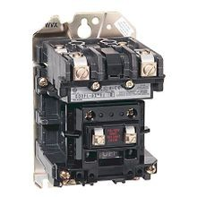 Allen-Bradley, 500FL NEMA Feed-Through Wiring Electrically Held Lighting Contactor, 60A, Open, 115-120V 60Hz, 3 Power Poles