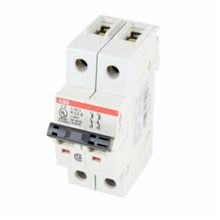 ABB S202U-K0.5 S200U High Performance Miniature Circuit Breaker, 277/480Y VAC to 48/96 VDC, 0.5 A, 10 kA, 2 Poles, K-Curve Trip