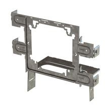 Caddy® STS2346 Box Bracket, 4 to 4-11/16 in Box, Steel, Electro Galvanized
