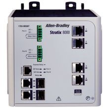 Allen-Bradley, 1783-MS10T, Stratix 8000 Switch, Managed, 10-port Base Switch