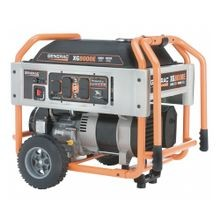 Generac® 5747 XG8000E Brushless Portable Generator, 120/240 VAC, 66.7 A, 10000 W Starting/8000 W Running, OHVI Engine, 3600 rpm