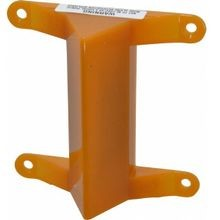 Federal Signal Visalert® VALS Warning Strobe Light, 120 VAC, Surface Mount, Amber, Polycarbonate Housing