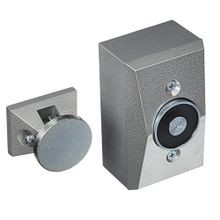 Edwards Signaling™ 1508-AQN5 Electromagnetic Door Holder, 4-1/2 in H x 2-3/4 in W, Wall Mount, Die Cast Metal, Silver