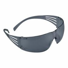 3M™ SecureFit™ SF202AF Light Weight Protective Eyewear, Universal, Frameless Gray Frame, Anti-Fog Gray Lens