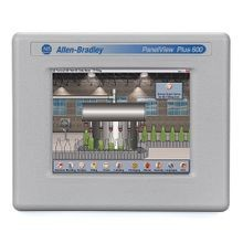 Allen-Bradley, 2711 PanelView Plus 6 Terminal, 600 Model, Touch Screen, Color, Ethernet and RS-232 Communication, AC Input, Windows CE 6.0